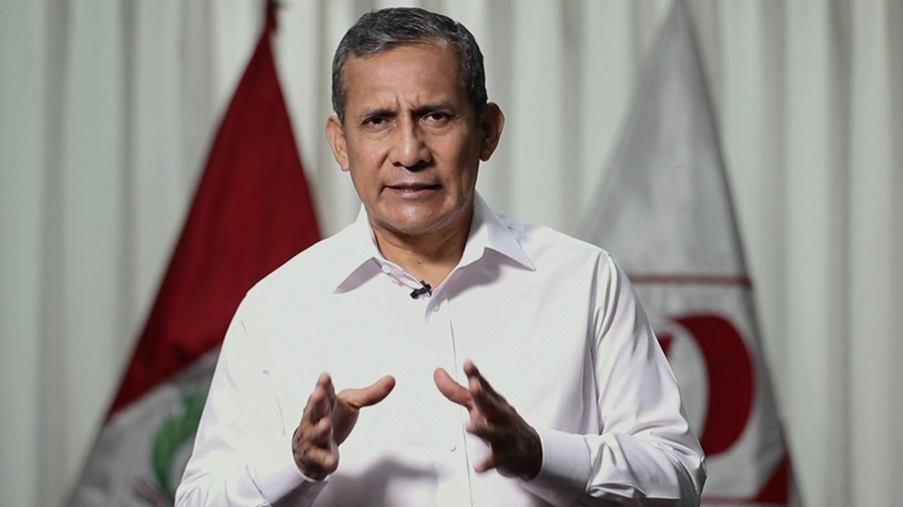Ollanta Humala, expresidente de la República.