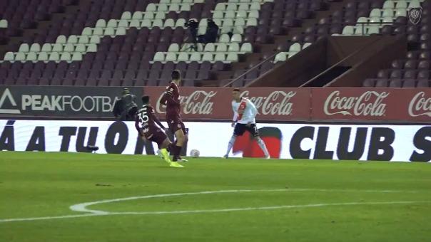Matías Suárez anotó gol en el River Plate vs Lanús