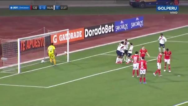 Cienciano 0-1 Municipal: así fue el gol de Hideyoshi Arakaki