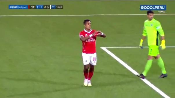 Cienciano 1-1 Municipal: así fue el gol de Raziel García