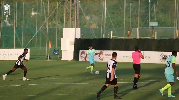 Luis Abram ingresó al minuto 77