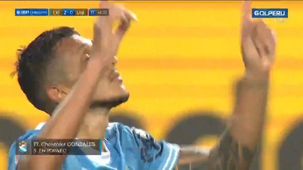 Gol de Christofer Gonzales