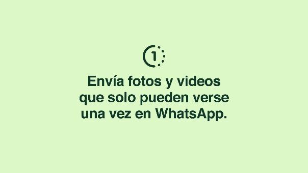 WhatsApp introduce una nueva función.