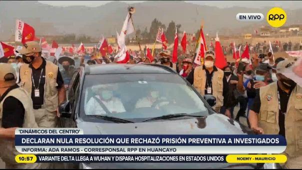 Poder Judicial declaró nula resolución que rechazó prisión preventiva a investigados en caso 'Dinámicos del Centro'