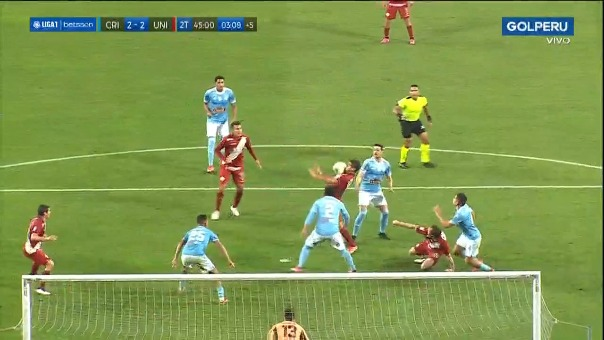 Gol de Alexander Succar