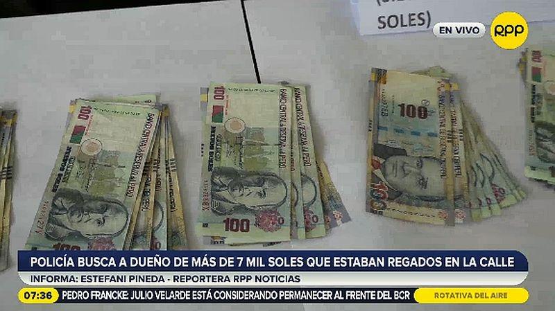 Si no se encuentra al verdadero dueño, el dinero será entregado al Tesoro Público.