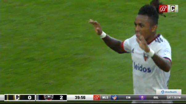 Primer gol de Yordy Reyna.