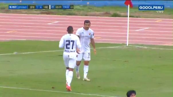 Bernardo Cuesta anotó 'hat-trick' en la fecha pasada ante Binacional