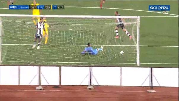 Primer gol de Alianza Lima