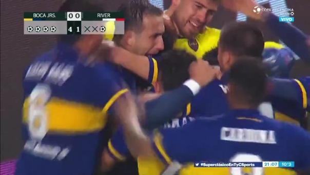 Boca Juniors superó a River Plate en penales