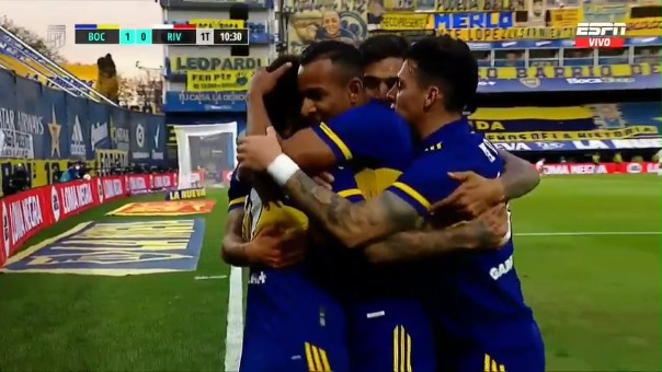 Boca venció por penales a River Plate en el último superclásico