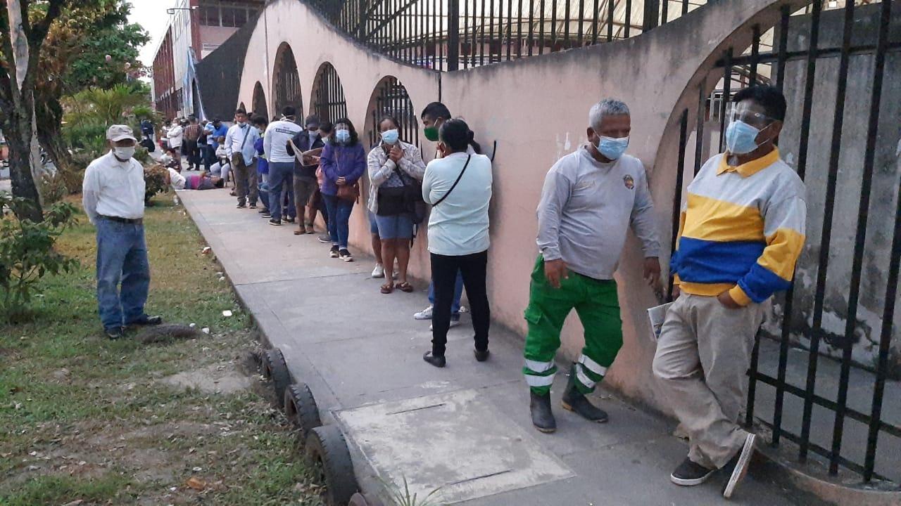 Carlos Calampa, director regional de Salud de Loreto, pidió calma a los ciudadanos que todavía no completaron su vacunación.