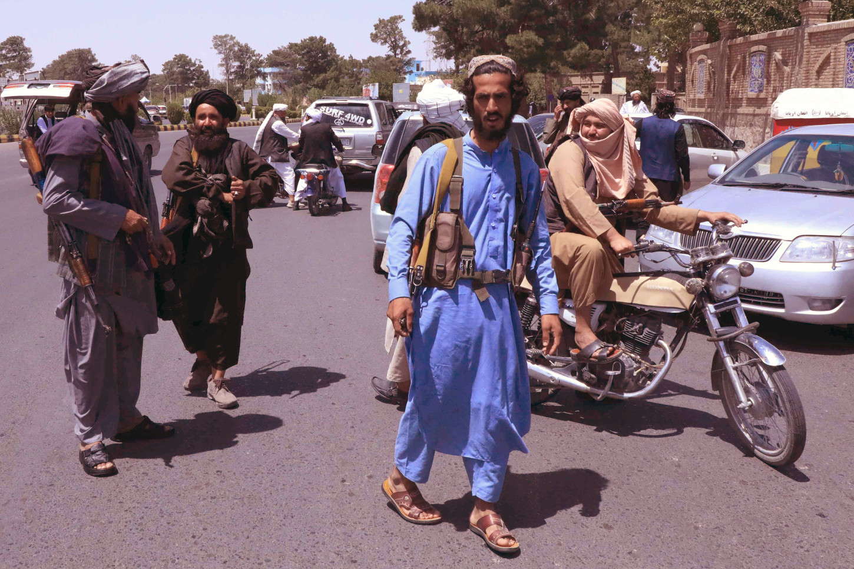 Avance talibán en Afganistán