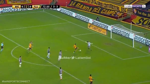 Gonzalo Mastriani marcó el 1-0 de Barcelona ante Fluminense