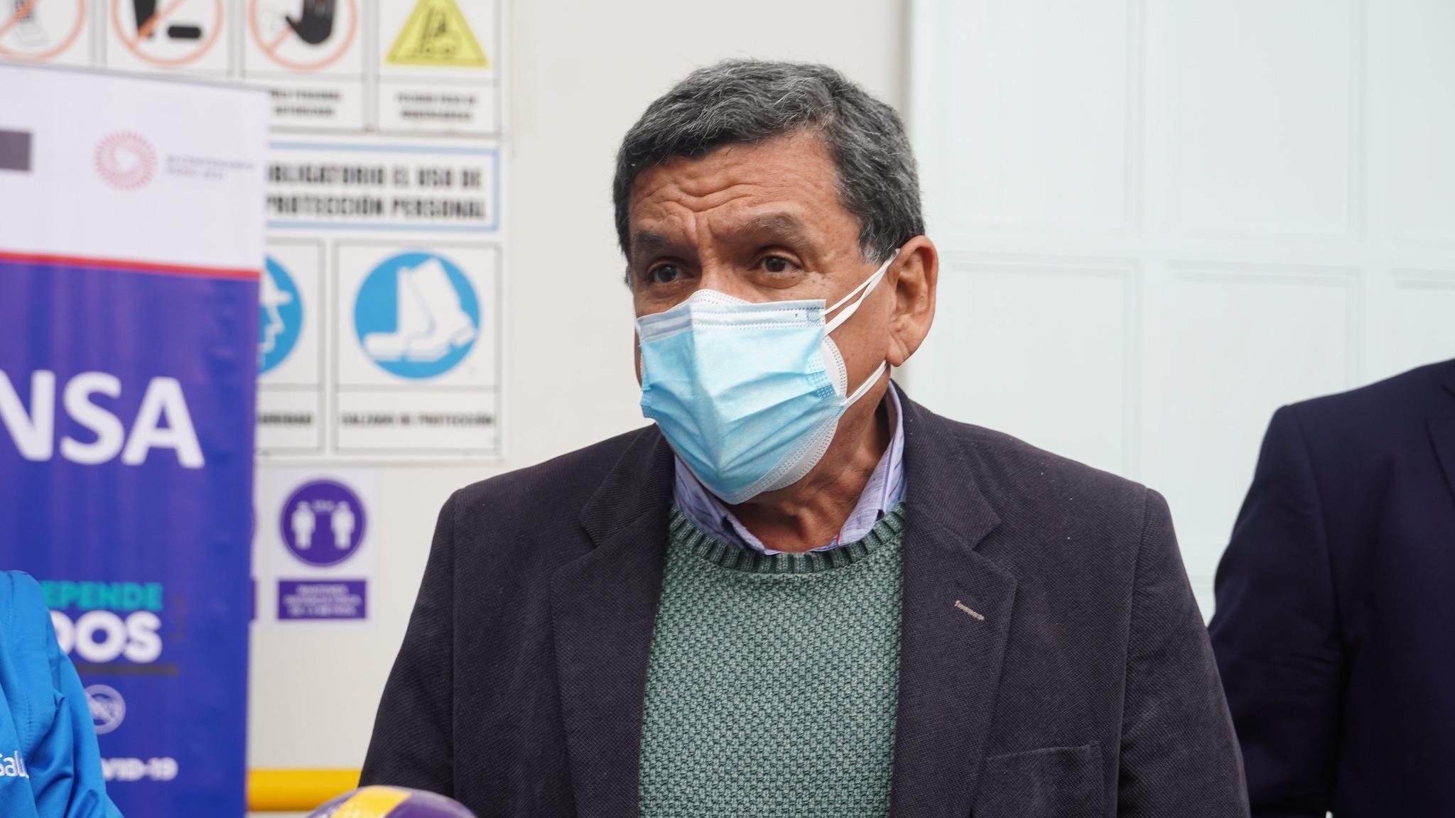 Ministro hizo un balance del reciente Vacunatón.
