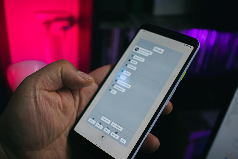 Podemos copiar textos de lo que queramos desde la multitarea