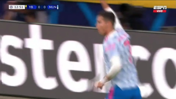 Manchester United 1-0 Young Boys: así fue el gol de Cristiano Ronaldo