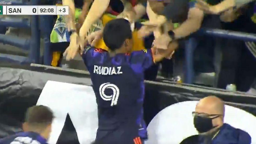 Este fue el gol de Raúl Ruidíaz contra el Santos Laguna.