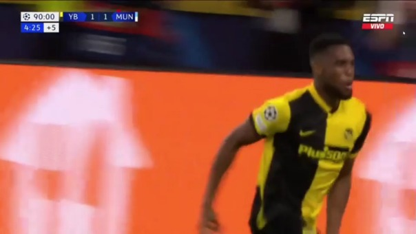 Young Boys 2-1 Manchester United
