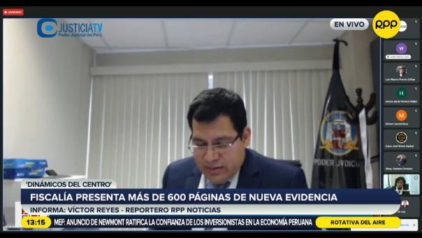 Fiscalía presentó más de 600 páginas de nueva evidencia en caso 'Dinámicos del Centro'