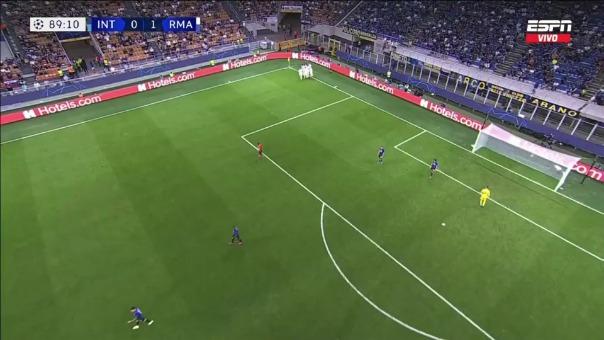 Inter 0-1 Real Madrid: así fue el gol de Rodrygo