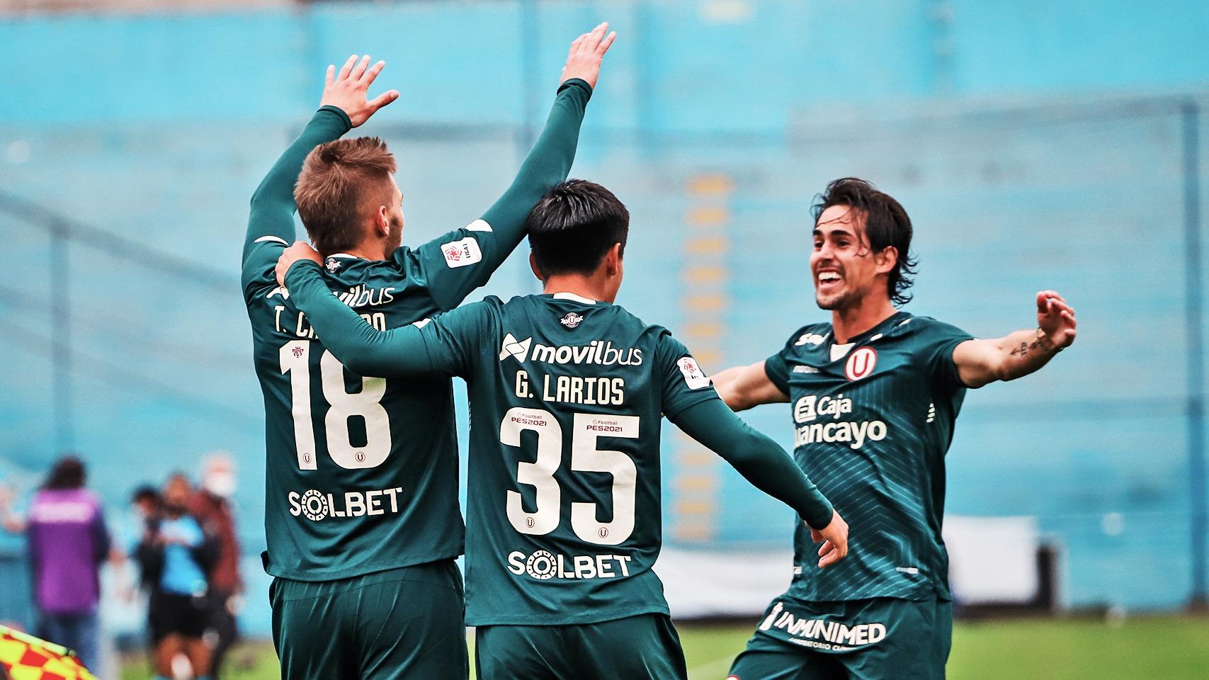El gol de Tiago Cantoro en el 'U' contra San Martín.
