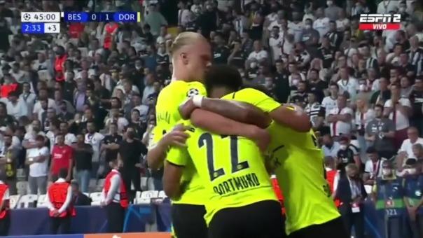 Gol de Haaland de Champions.