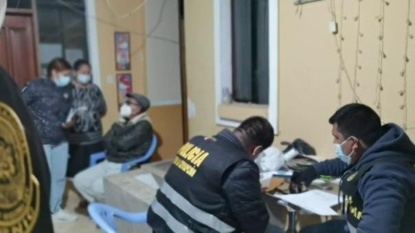 Ministerio Público ordenó su detención preliminar por 72 horas mientras se continúa con las investigaciones.