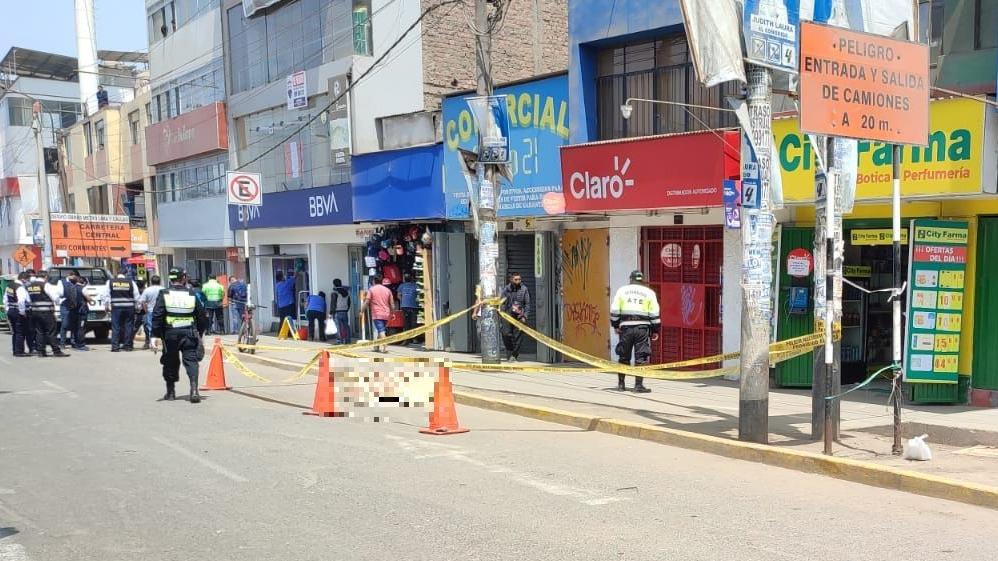 El crimen ocurrió en la cuadra 50 de la avenida Nicolás Ayllón.