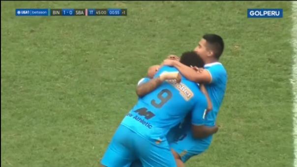 Así fue el gol de MArio Palomino en el Binacional 1-0 Sport Boys