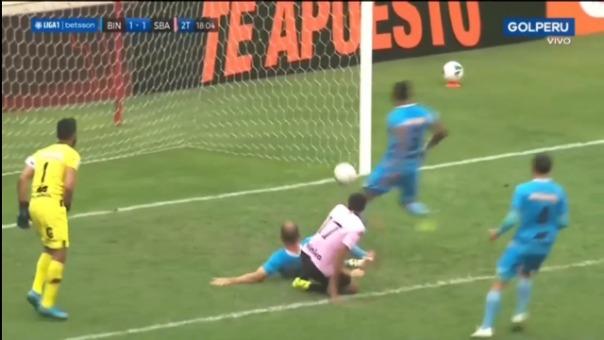 Así fue el gol de Joao Villamarín en el Binacional 1-1 Sport Boys
