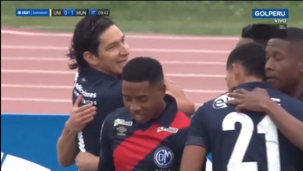 Así fue el gol de Alexis Rodríguez