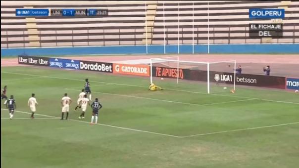 ASí fue el gol de Roberto Ovelar en el Universitario 0-2 Municipal