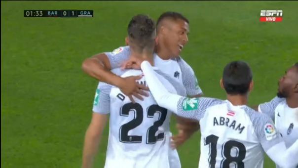 RESUMEN] Barcelona empató 1-1 con Granada de Luis Abram en el Camp Nou por  la jornada 5 de LaLiga   RPP Noticias