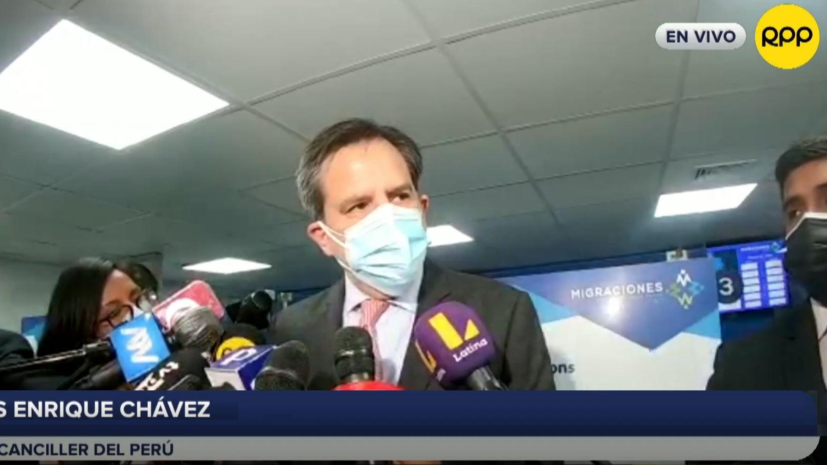 Vicecanciller afirma que Perú no reconoce autoridades legítimas en Venezuela