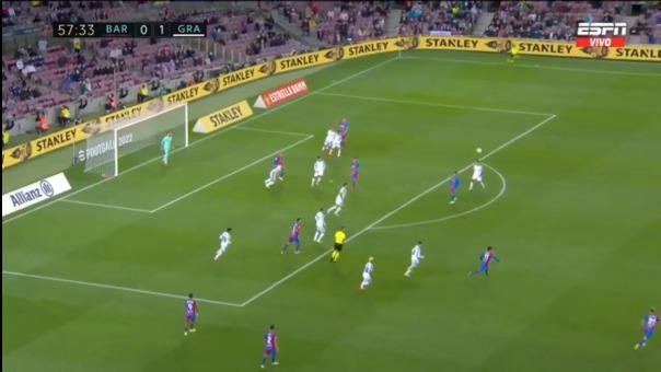 Luis Abram cumplió una buena labor ante Barcelona.