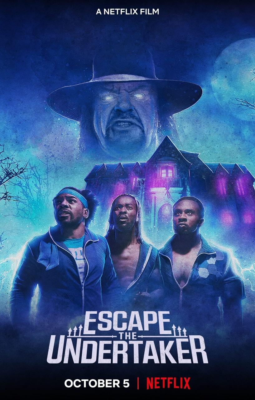 Póster de 'Escape The Undertaker'.