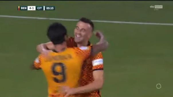 Así fue el tercer gol de Gianluca Lapadula