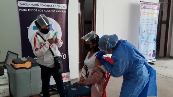 La vacunación a menores de 12 años a más se realizó del 11 al 12 de septiembre en la región Cusco.
