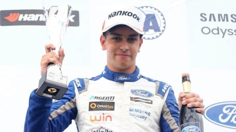 Matias Zagazeta feliz por liderato en la F4.