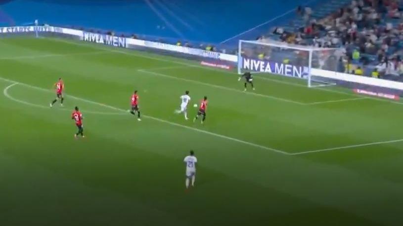 Marco Asensio y el 3-1 del Real Madrid en el Bernabéu.