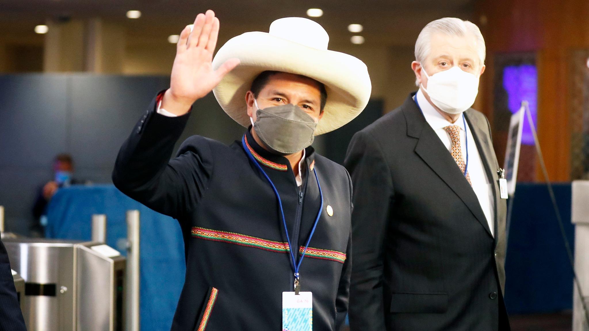 El presidente de la República, Pedro Castillo, asistió a la Asamblea General de las Naciones Unidas.