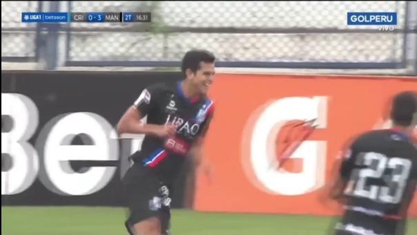 Así fue el gol de Osnar Noronha en el Manucci 3-0 Cristal