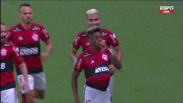 Así fueron los goles de Bruno Henrique