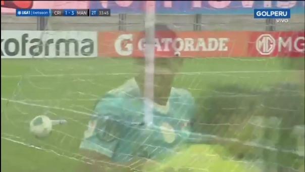 Así fue el gol de Percy Liza de Cristal 1-3 Mannucci