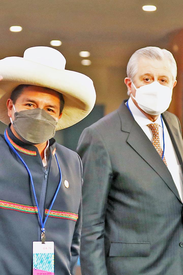 Comisión de Relaciones Exteriores citará a canciller por reunión entre Pedro Castillo y Nicolás Maduro