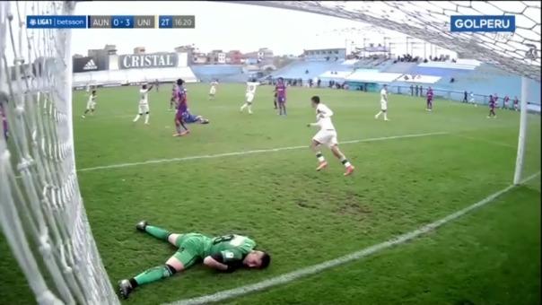 Alex Valera marcó su segundo gol en el Universitario 3-0 Alianza Universidad