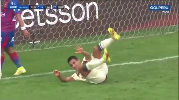 Así fue el tercer gol de Alex Valera en el Universitario 4-0 Alianza Universidad