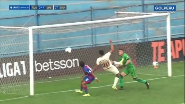 Así fue el tercer gol de Alex Valera