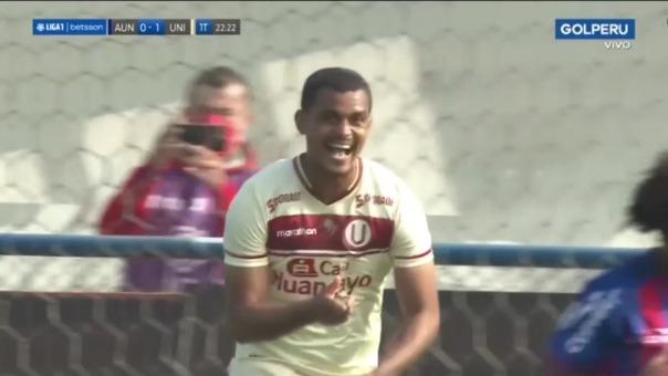 Así fue el gol de Nelinho Quinta en el Universitario 1-0 Alianza Universidad